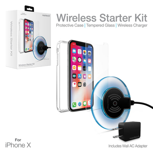 Naztech Wireless Starter Bundle Kit -iPhone X