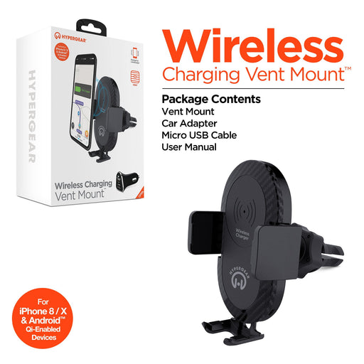 HyperGear Wireless Charging Vent Mount