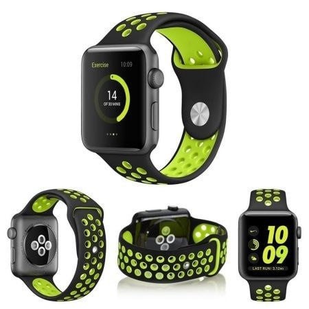N+ Sports Silicone Strap High Quality Watch Band - Apple Watch