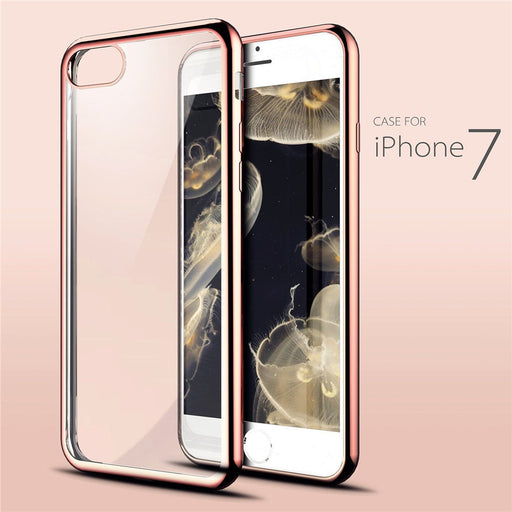 Stylix Crystal Clear TPU Soft Back Bumper Case iPhone 7/7 Plus