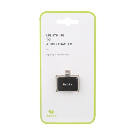 Benks 2-in-1 LIghtning to AUX Adapter