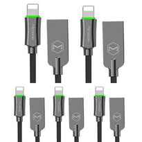 The BUNDLE 10X -  6FT MCDODO Lightning Bolt - Smart Braided Charging Cable