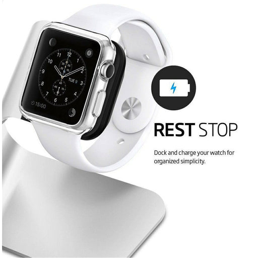 getModern Aluminum Charging Cradle Stand for Apple Watch Holder Charger Mount Dock Base