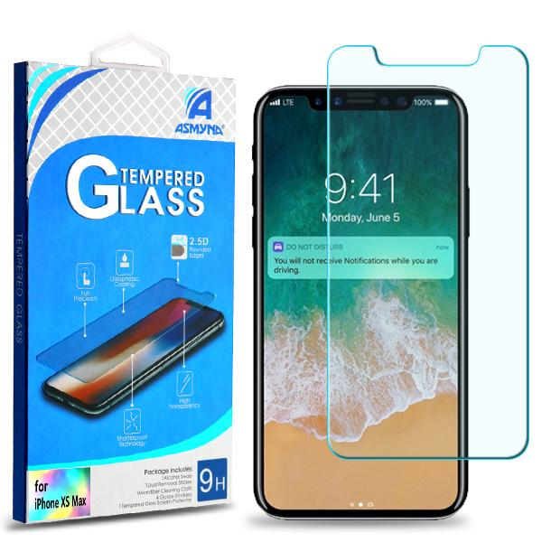 Asmyna Premium Tempered Glass Screen Protector (2.5D) | iPhone XS MAX