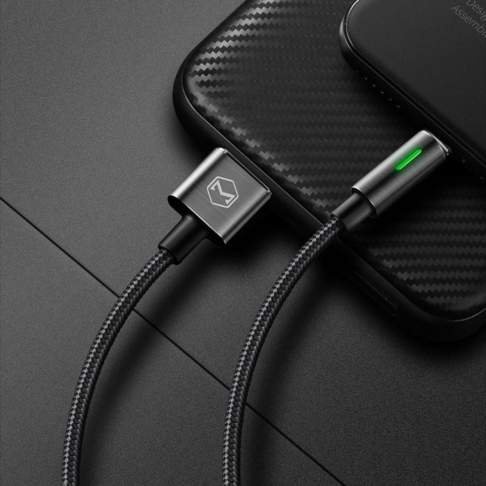 NextGen MCDODO Lightning Bolt-Smart Braided Charging Cable -4ft