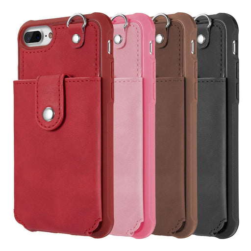 The In & Out Wallet Case w/ Detachable Card Holder -iPhone 7/8 Plus