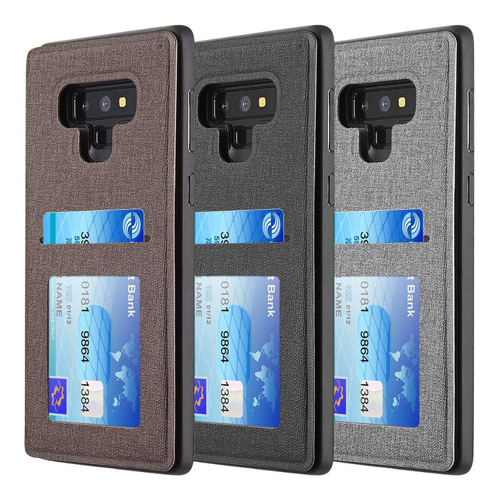 The Commuter Leather TPU Rare Flip Wallet Case | Note 9