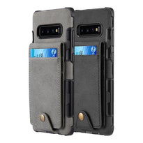 Rugged | Scratch Resistant Canvas Wallet Case | Galaxy S10E
