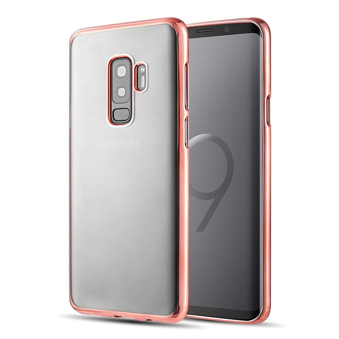 Skyfall Transparent Case w/Electroplated Frame | S9 Plus