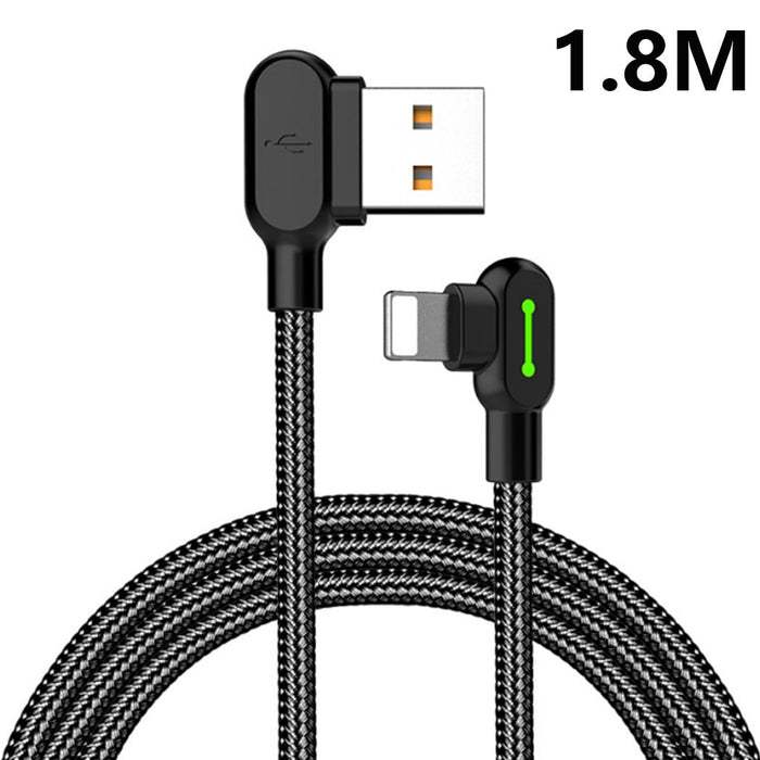 The Gamer - 90 Degree Lightning Rapid Charge Cable