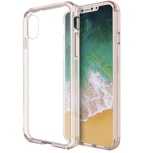 Fusion Candy TPU with Clear Acrylic Back | iPhone XS