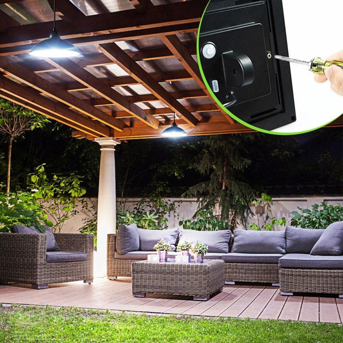 SolarMax - Solar Powered Pendant Light - Indoor/Outdoor