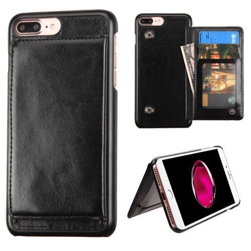 Executive Flip Wallet Protector Cover (with Snap Fasteners) - iPhone 8