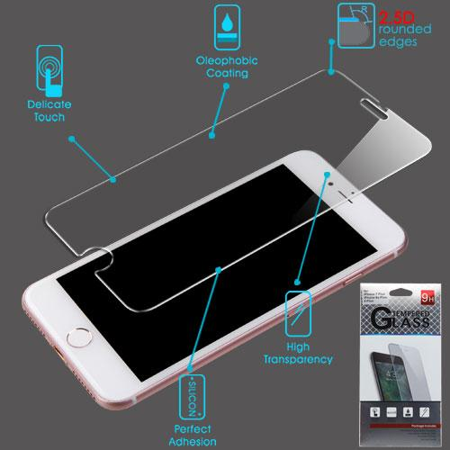 Premium 9H Tempered Glass Screen Protector (2.5D) -iPhone 8 Plus