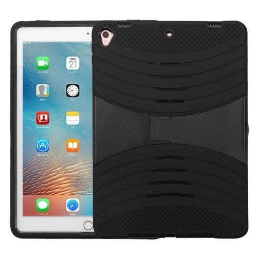 Wave Symbiosis Protector Cover (with Horizontal Stand) - Black- iPad Pro 9.7