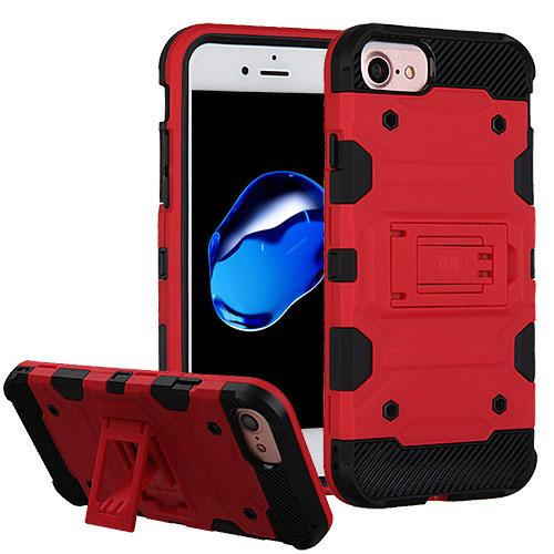 3 in 1 Storm Tank Military Protector Case with Tempered Glass Screen Protector - iPhone 7/8