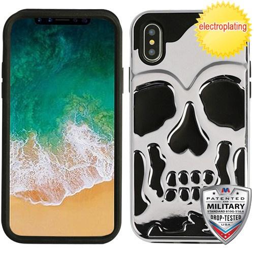 Skullcap Hybrid Protector Cover [Military-Grade Certified] -iPhone X