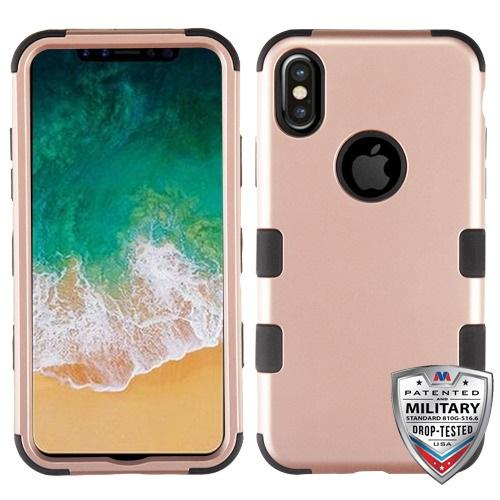 TUFF Hybrid Phone Protector Cover [Military-Grade Certified] -iPhone X