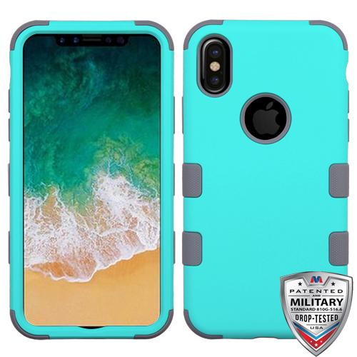 TUFF Hybrid Phone Protector Cover [Military-Grade Certified] -iPhone X/XS