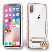 Clear TUFF Panoview Hybrid Protector Cover (with Magnetic Metal Stand) -iPhone X