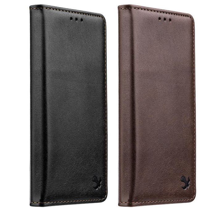 Luxury Gentleman Magnetic Flip Wallet Case | iPhone XR