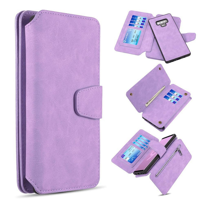 Luxury Coach 2 Series Flip Wallet Case  | Note 9