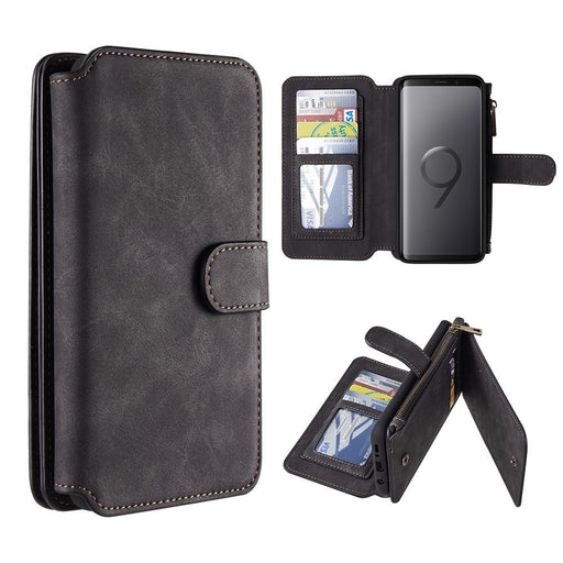 Luxury Coach Series Flip Wallet Case | S9 Plus