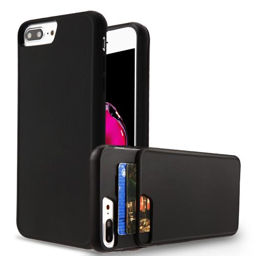 Z-Slide Wallet Hybrid Protector Cover (with Double Card Holder) -iPhone 7/8 Plus