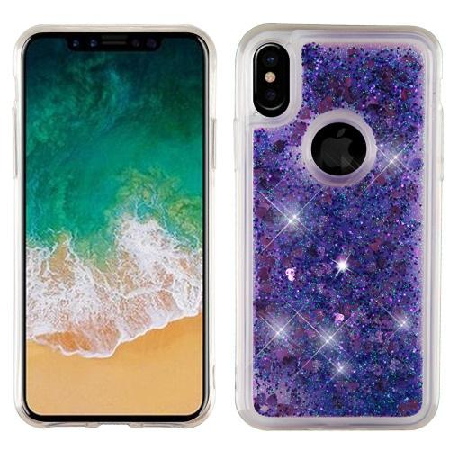 Quicksand Glitter Hybrid Protector Cover -iPhone X