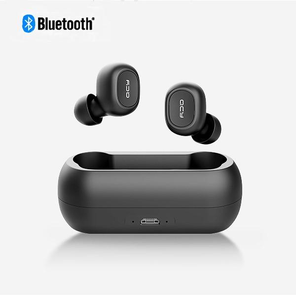 8bc84f66aff QCY PRO Mini Wireless AutoPairing Bluetooth 5.0 Dual Earbuds with Char —  getModern