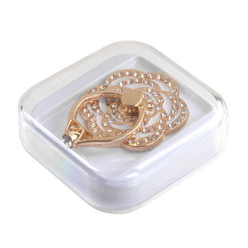 Diamond Flower Ring Stand