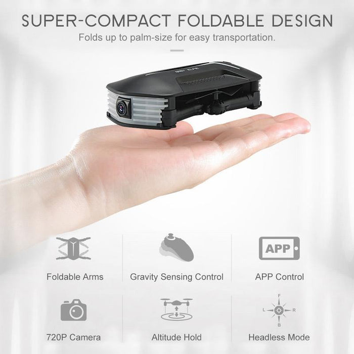 Amazing Foldable Baby Elfie Selfie Drone with Camera