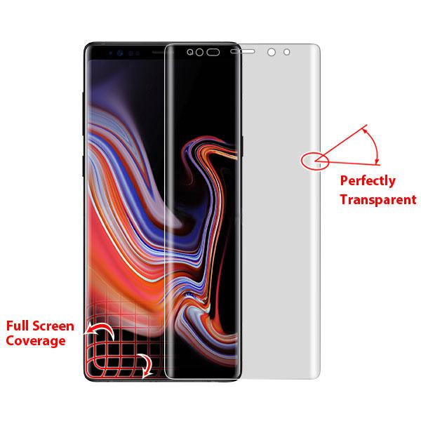 Full Coverage Tempered Glass Screen Protector -Note 9