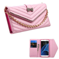 Premium Quilted Clutch Wallet (with Bracelet)