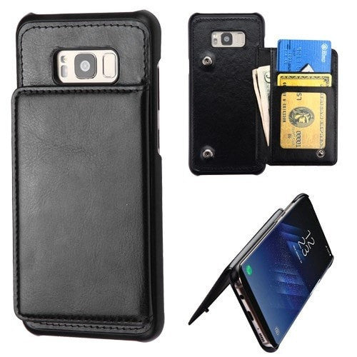 The Executive Flip Wallet Protector Cover(with Snap Fasteners)-S8