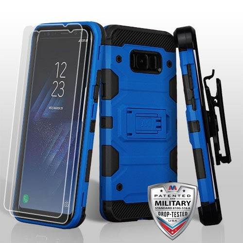 3-in-1 Storm Tank Hybrid Protector Cover Combo [Military-Grade Certified]-S8 PLUS
