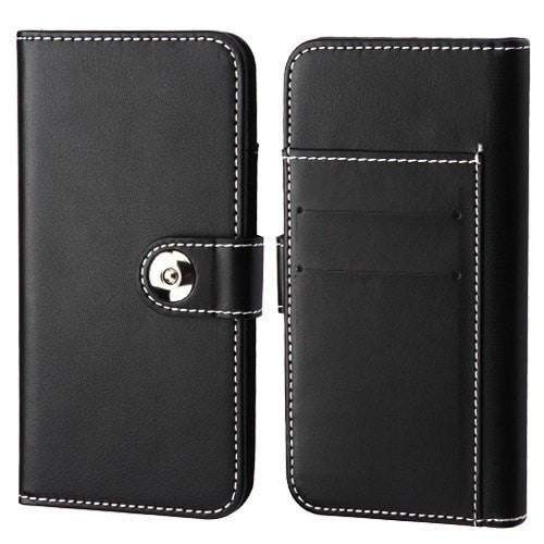 Desigino Detachable Magnetic 2-in-1 Wallet Case (Back Cover + Leather Folio Flip)-S8 PLUS