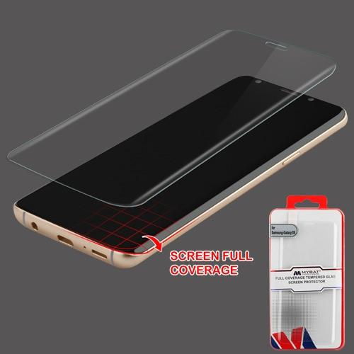 Full Coverage Tempered Glass Screen Protector -S9