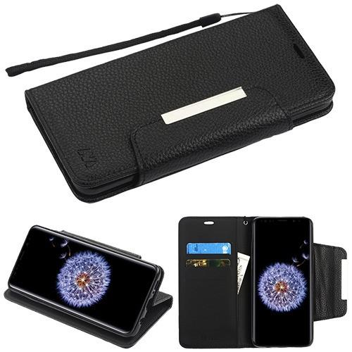 Black MyJacket Wallet -S9 Plus