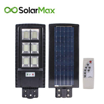 SolarMax - 7000 Lumens  120W - 240LED Solar Powered Street Light  w/Remote Control