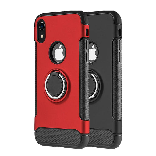 The Carbon Edge Sports Hybrid Case w/Circo Magstand | iPhone XR