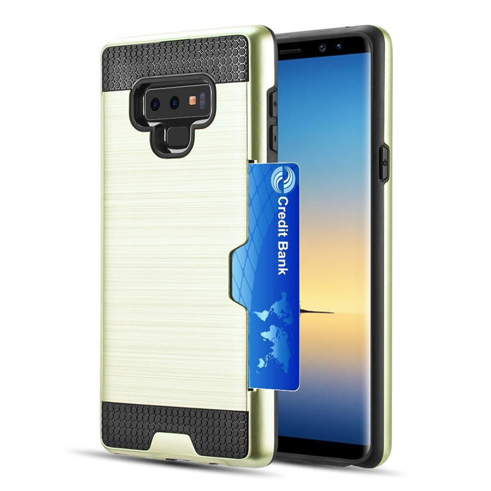 Hybrid Card To Go Case w/ Silk Back Plate | Note 9