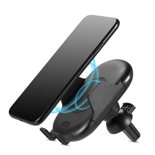 Wireless Qi Charging Car Vent Mount w/ Infrared Sensor