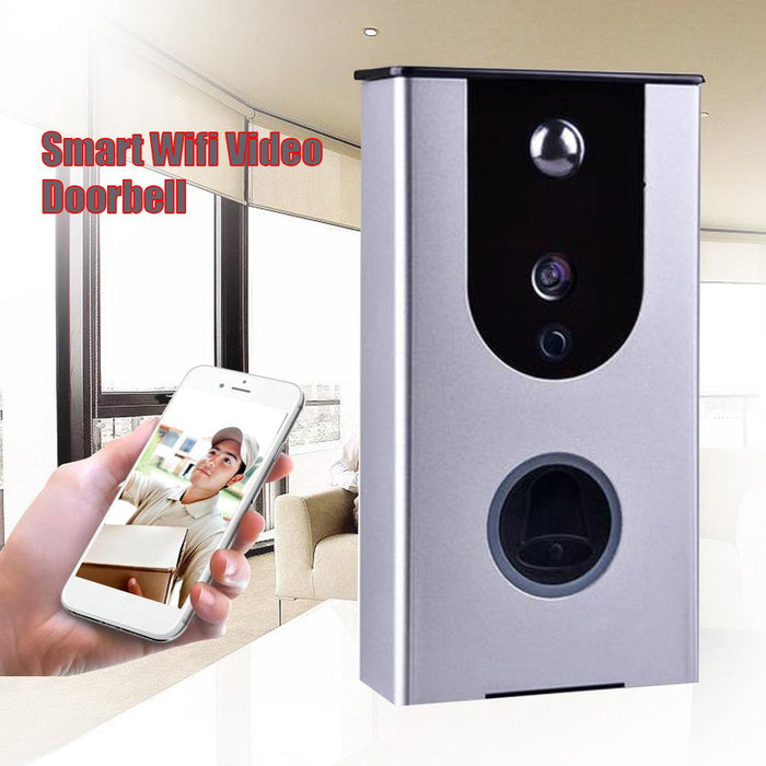 Smart Wireless Remote Ring DoorBell WiFi Visual PIR IR Night Vision Camera