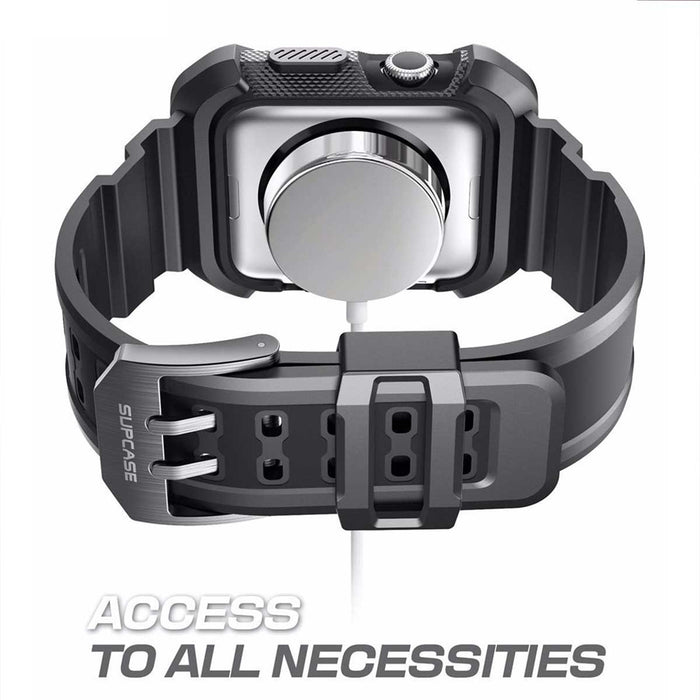 Rugged Tough Bumper Protector Black Apple Watch Case 38mm Tpu Clear Cover Hard