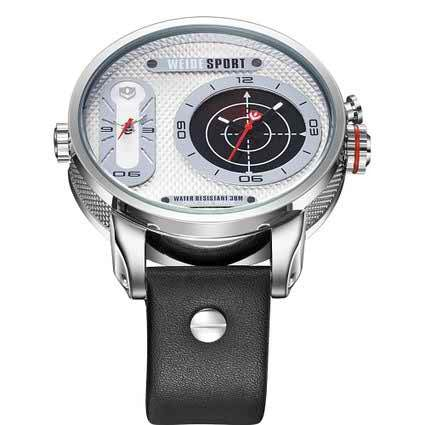 Men's Dual-time Sport Watch