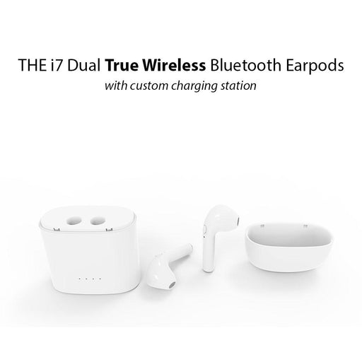 THE  i7 Dual True Wireless Bluetooth Earpods