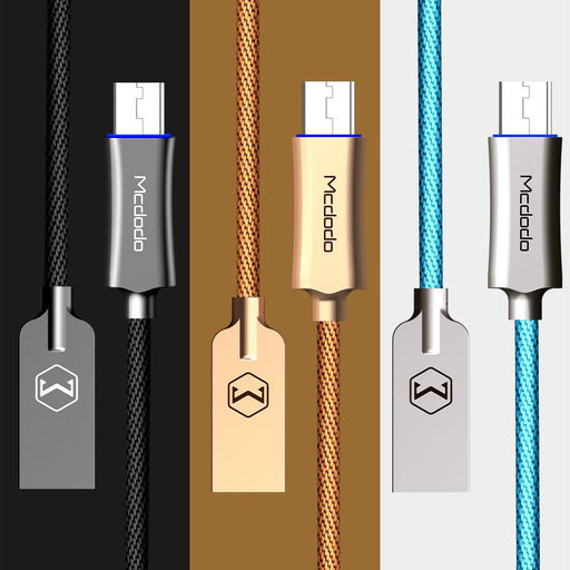 MCDODO Android - Smart Rapid Charging Braided Cable Micro USB S7