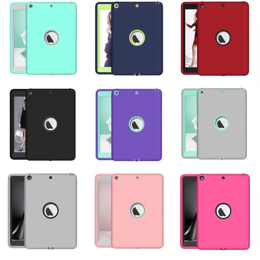 Shockproof Hard Rubber Hybrid Guard Case -iPad 9.7