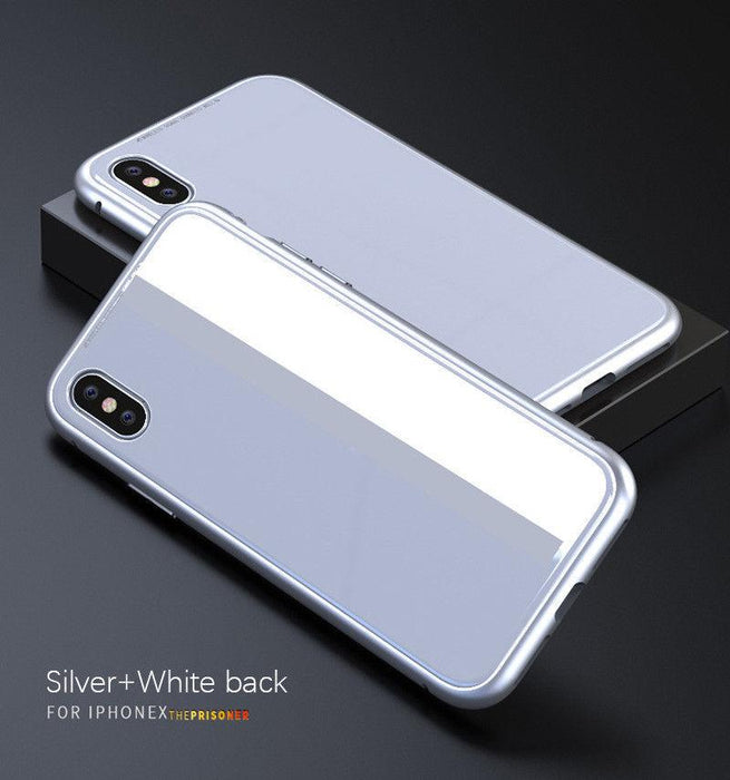 best service f091e 74b43 Magneto | Magnetic Absorption Luxury Metal Case w/Tempered Glass ...